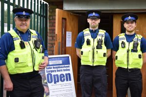 POLICE BACK AT YOUTH CENTRE