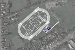 RELOCATION OF ATHLETICS TRACK