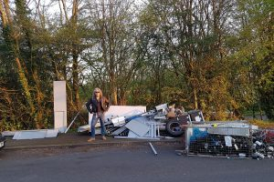 FLY TIPPING – BROAD DAYLIGHT