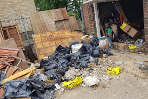FLY TIPPING HORROR – CRAIGAVON ROAD