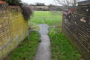WOOTTON DRIVE PATH FINALLY SORTED