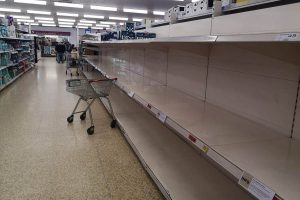 PANIC BUYING – WHAT IS WRONG WITH PEOPLE?