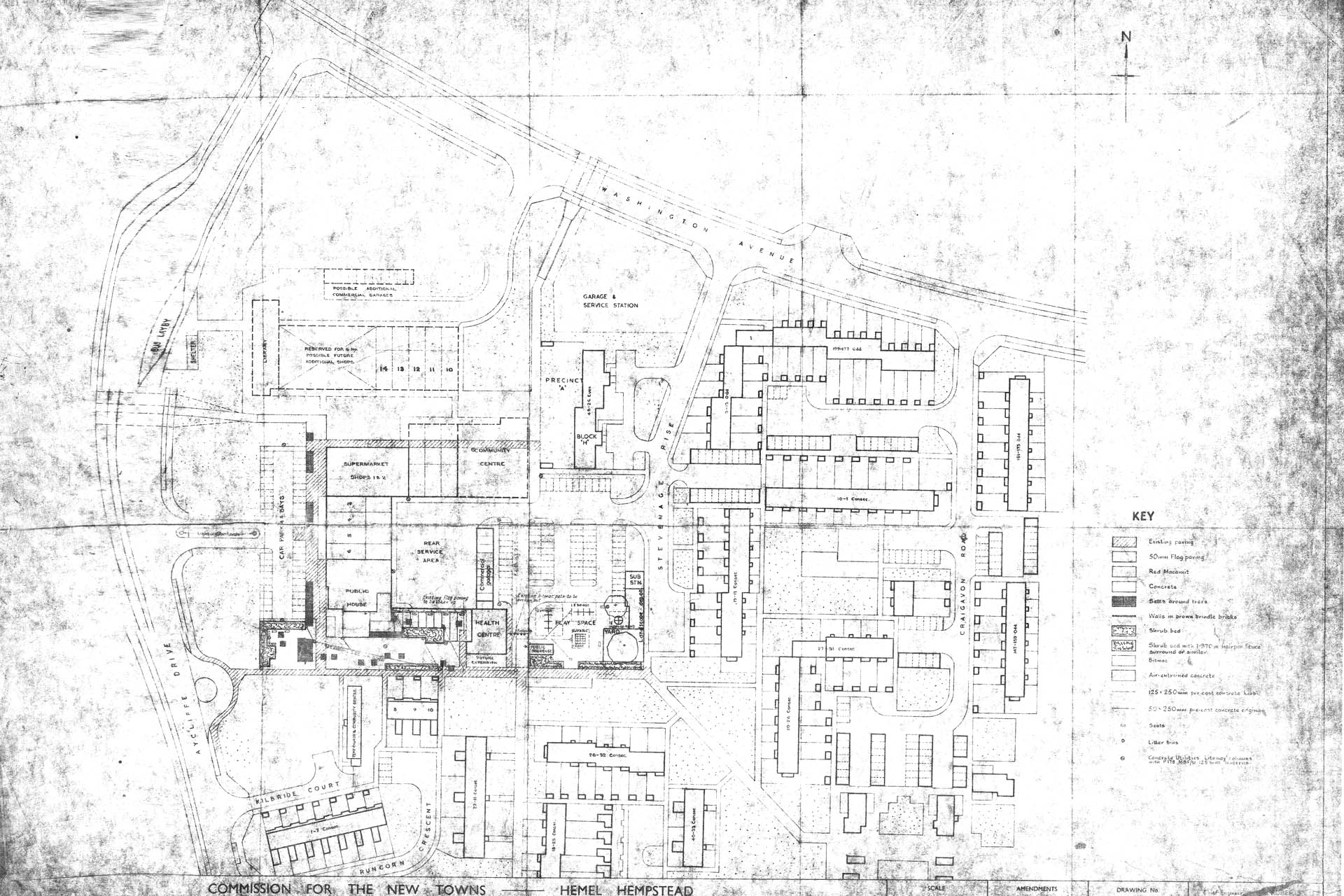 Original Plan of Grovehill