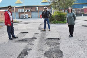 Road Resurfacing – Stevenage Rise